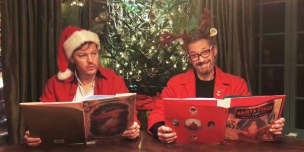 Дэвид Хейтер и Кэм Кларк с выражением прочитали поэму «Ночь перед Metal Gear» (видео)