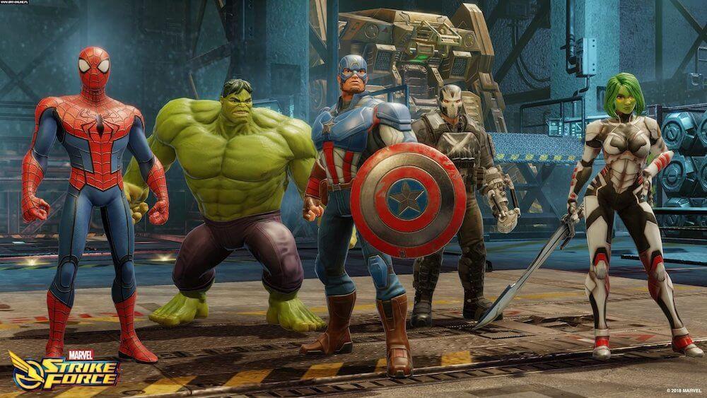 MARVEL Strike Force: обзор, гайд для начинающих, лучшие персонажи для старта