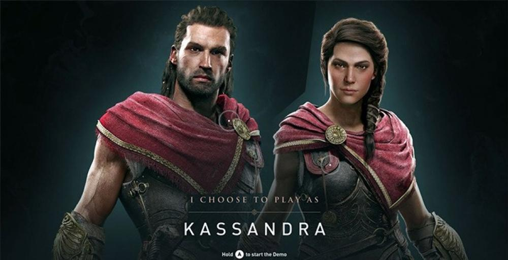 Ubisoft: в Assassin's Creed Odyssey геймеры не хотели играть за Кассандру