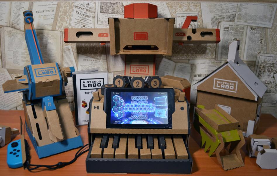 Записки картономана, или Обзор Nintendo Labo Variety Kit