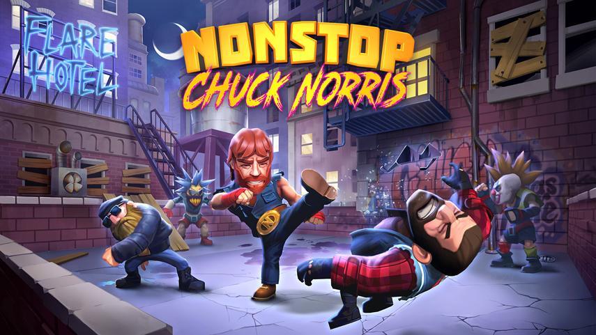 Игра Nonstop Chuck Norris — подарок ко дню рождения Чака Норриса