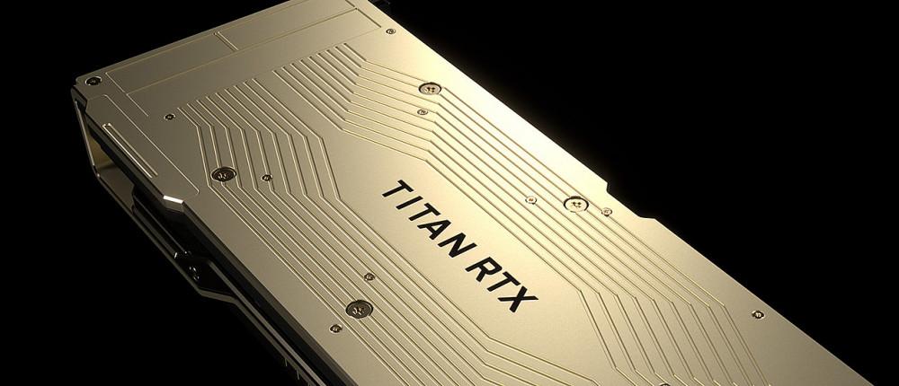 Появились первые результаты тестов видеокарты Nvidia Titan RTX за 221 тысячу рублей