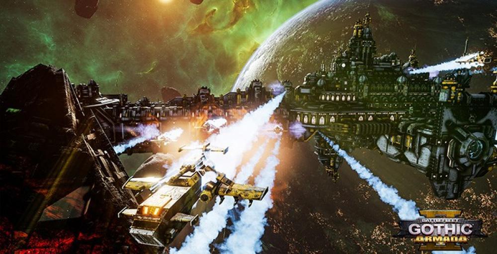 Состоялся релиз Battlefleet Gothic: Armada 2