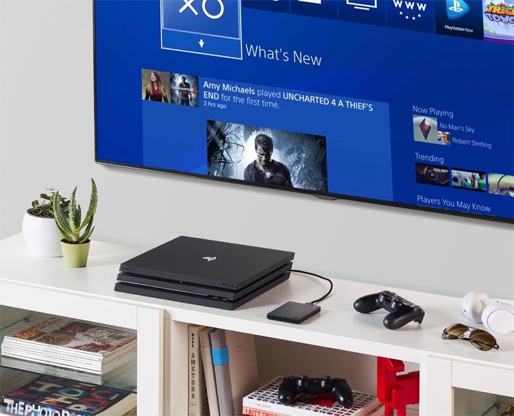 """Новый накопитель Seagate Game Drive для PS4 вмещает 2 Тбайт данных"""""""