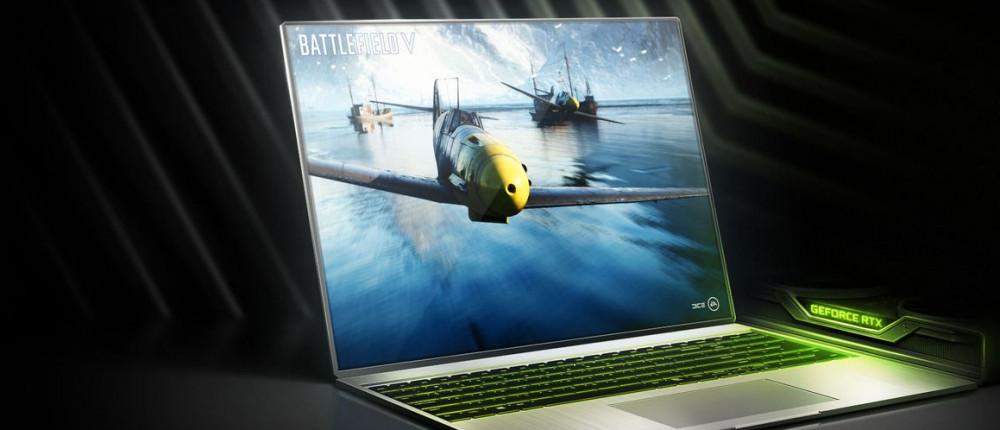 Ноутбуки с видеокартами Nvidia RTX 2080 и RTX 2060 гораздо мощнее, чем PS4 Pro и ПК с GTX 1080/GTX 1070