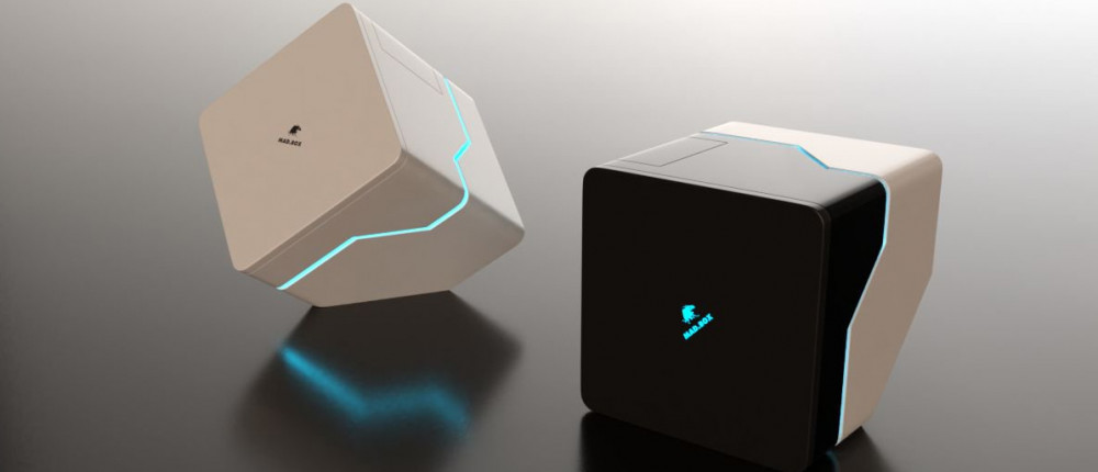 Появились первые концепты дизайна Mad Box — игровой консоли с самой высокой производительностью