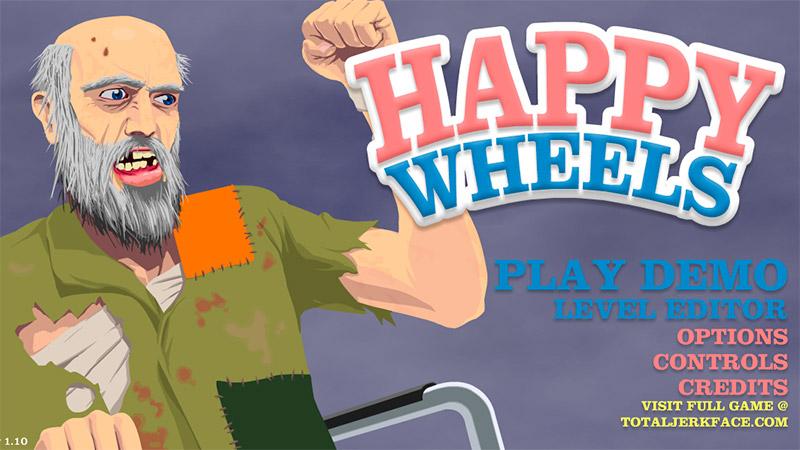 Happy Wheels: время для кровавого веселья