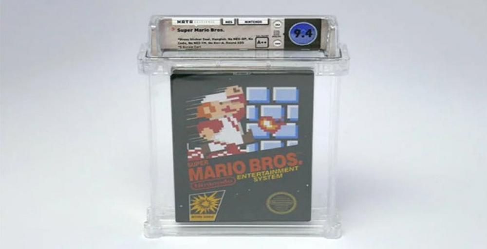 За картридж с Super Mario Bros заплатили 100 000 $