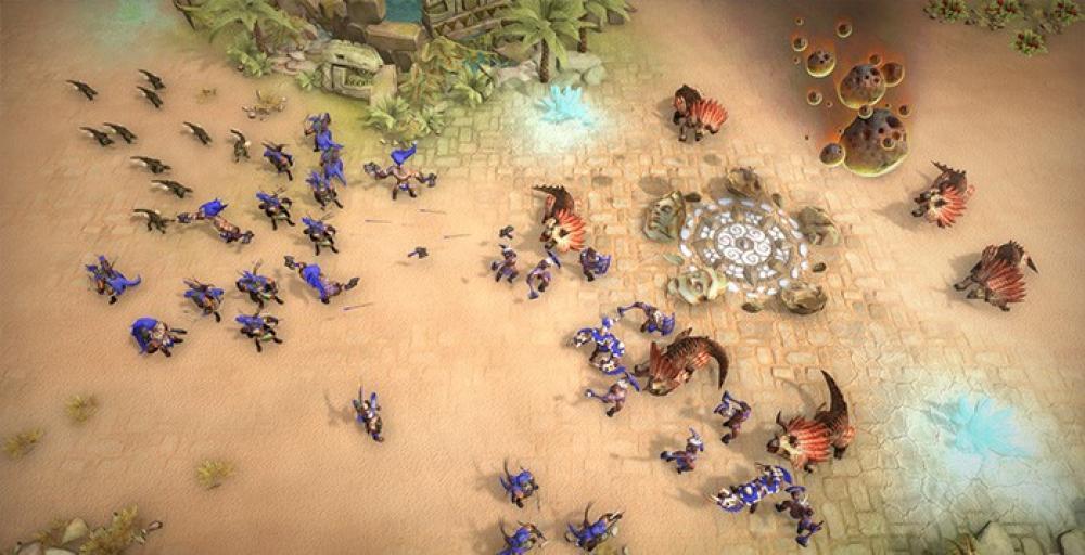 Стратегия с динозаврами Warparty выйдет в конце марта