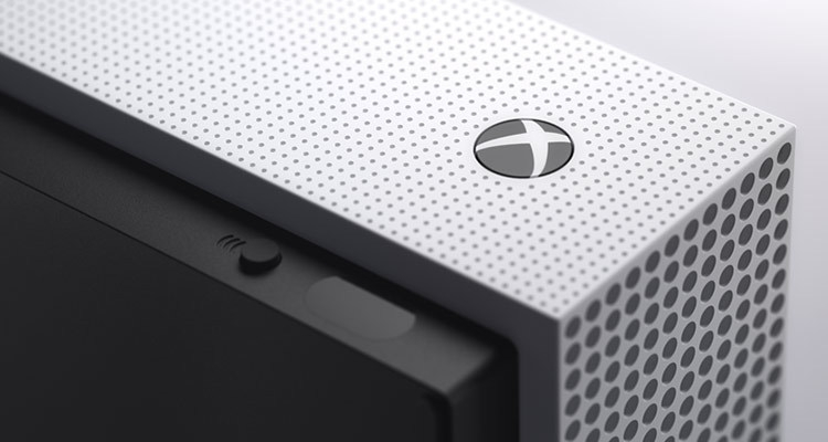 Xbox One S All-Digital Edition: новая версия консоли Microsoft без оптического привода""