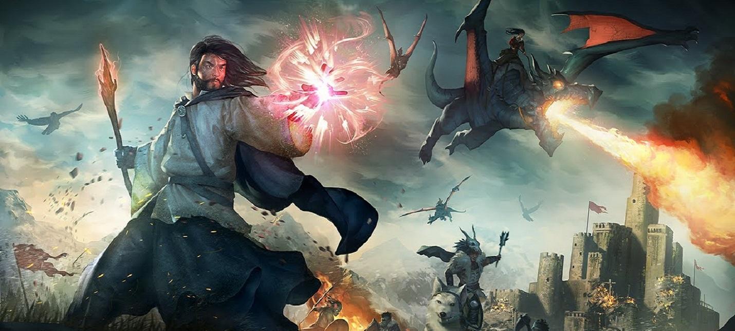 Борьба с монстрами и полеты на метле в новом трейлере MMORPG Citadel: Forged with Fire