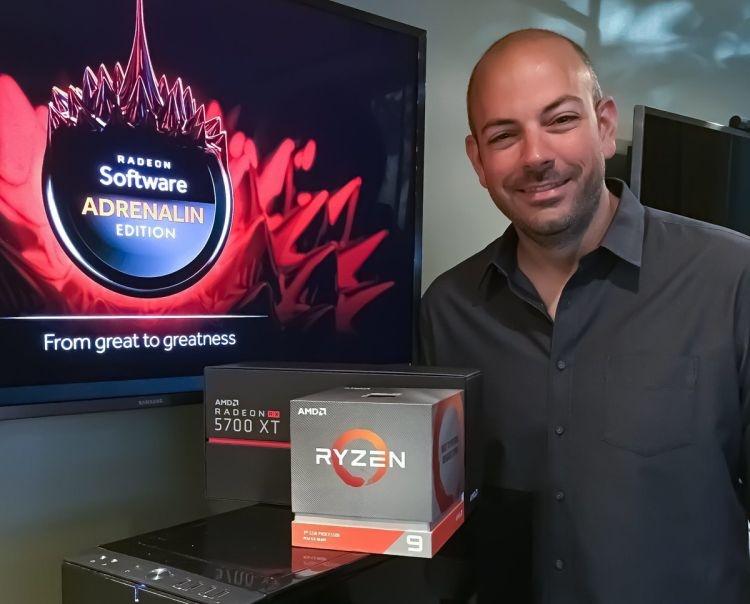 """Новый директор игрового подразделения AMD вступил в должность"""""""