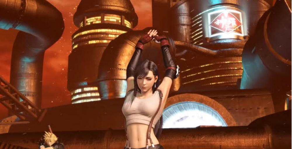 Тифа стала доступна в Dissidia Final Fantasy NT
