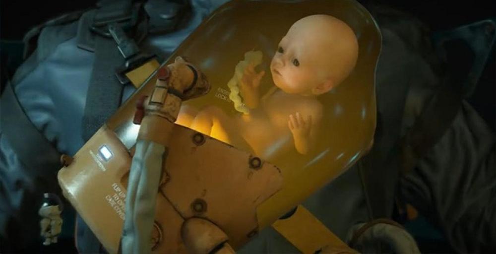 Кодзиму задержали из-за эмбриона из Death Stranding