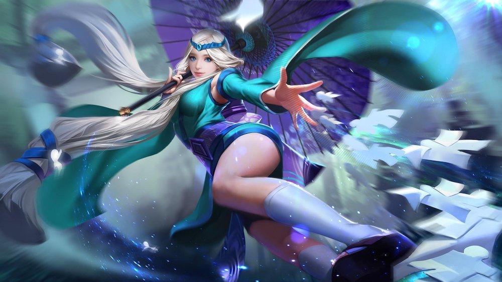 Mobile Legends: Гайд на Кагуру — девочка с зонтом