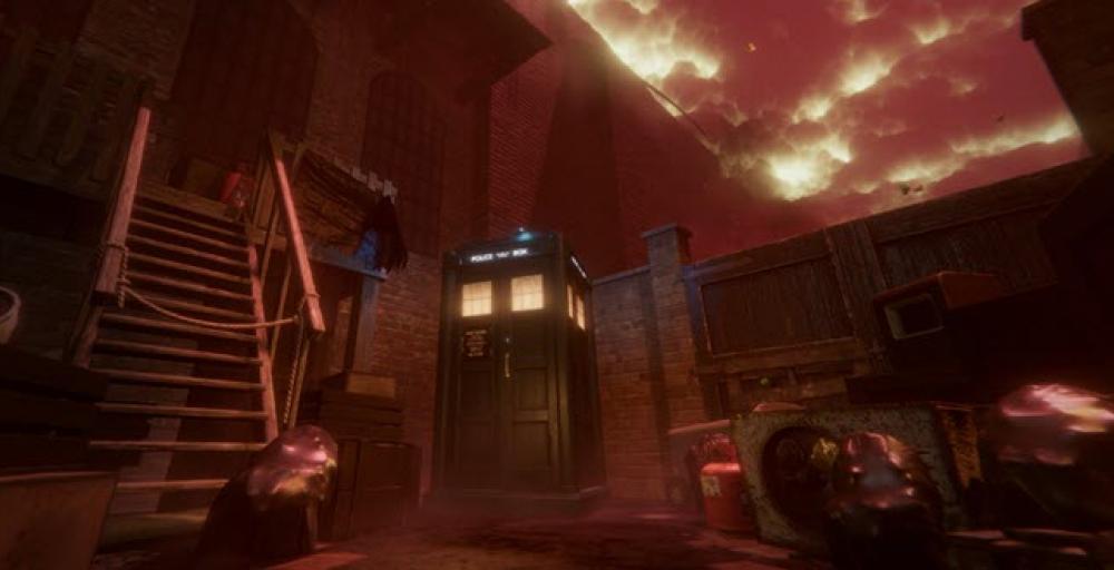 Новая игра по сериалу Доктор Кто позволит вам пилотировать Тардис