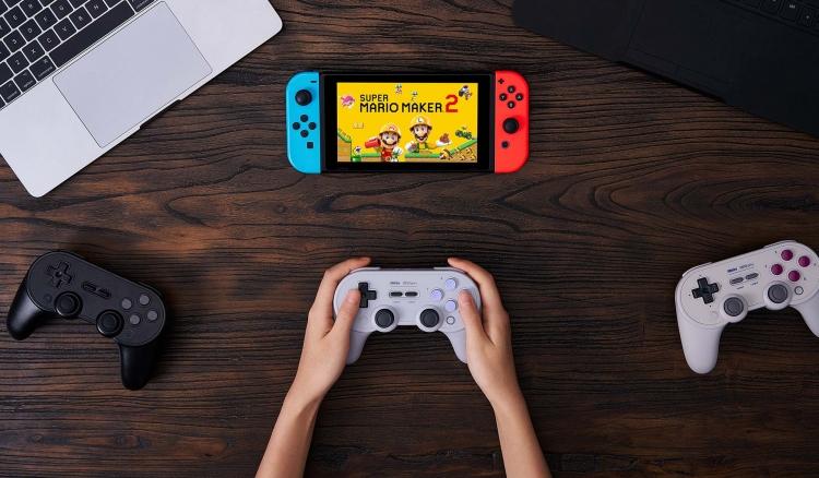 """8BitDo Pro+ — продвинутый контроллер для Nintendo Switch, ПК и Android с тонкой настройкой"""""""