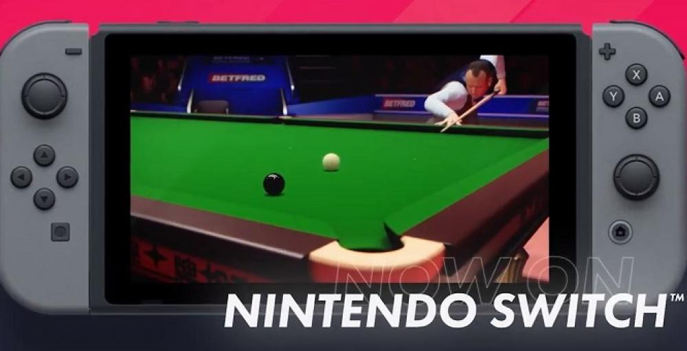 Snooker теперь доступен на Nintendo Switch