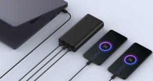 Xiaomi представила 50-ваттный пауэрбанк и 30-ваттную беспроводную зарядку с кулером