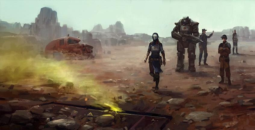 Российская Encased: A Sci-Fi Post-Apocalyptic RPG вышла в Steam