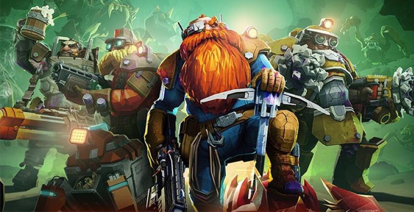 Шутер Deep Rock Galactic стал временно бесплатным в Steam