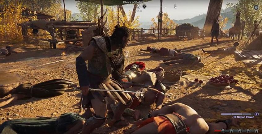 Поклонница Assassin's Creed: Odyssey попыталась убить всех NPC в игре