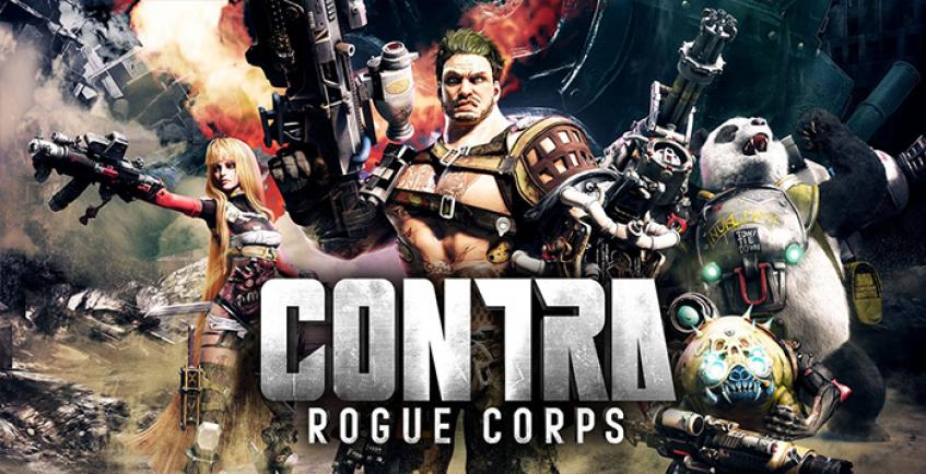 Показан первый геймплей шутера Contra Rogue Corps