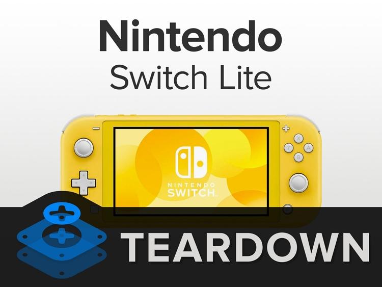 """Вскрытие Nintendo Switch Lite: карманную игровую консоль можно починить"""""""