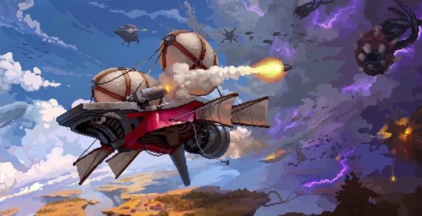 Анонсирован пиксельный экшен Black Skylands