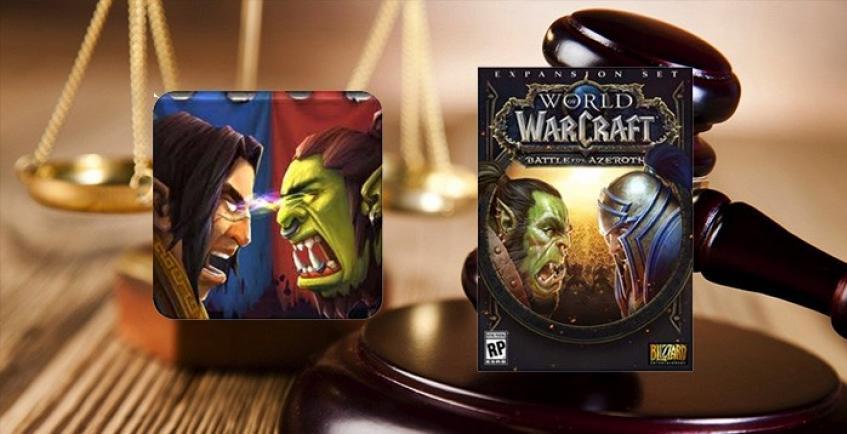 Blizzard подаёт в суд на китайцев за полное копирование Warcraft