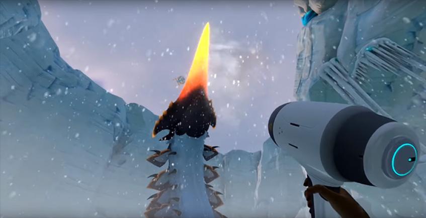 Subnautica: Below Zero получила обновление с огромным червём и новыми локациями