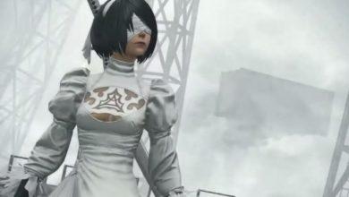 Новое  обновления 5.1 в трейлере кроссовера Final Fantasy 14 и Nier: Automata