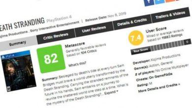 Цензура на Metacritic? Сервис удалил отрицательные отзывы о Death Stranding