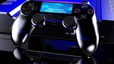На картинках показали, как может выглядеть геймпад для PS5 с сенсорным экраном