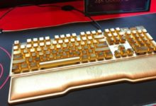 На CES 2020 показали клавиатуру за $10 000