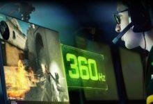 Nvidia представила первый в мире геймерский монитор с частотой 360 Гц — видео