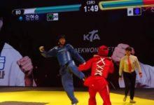 Очки здоровья в стиле Tekken и Mortal Kombat добавили в реальные соревнования по тхэквондо