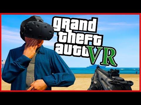 GTA V Mod позволяет играть в виртуальную реальность