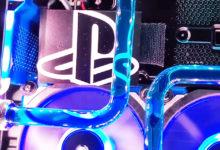 Ютубер прокачал свою PS4 Pro, оснастив ее водяным охлаждением и красивой подсветкой