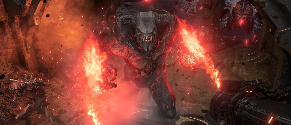 Sony впервые показала геймплей Doom Eternal на PS4. Графику можно сравнить с версией для ПК