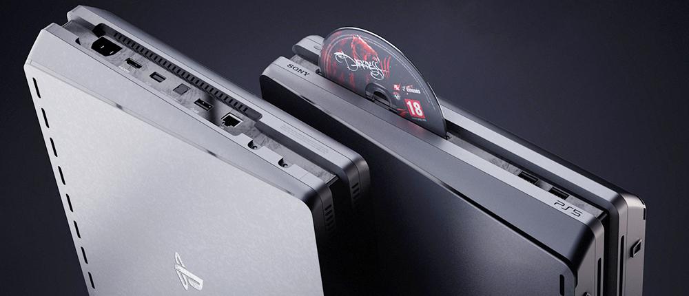 На картинках показали, как еще мог бы выглядеть дизайн PlayStation 5