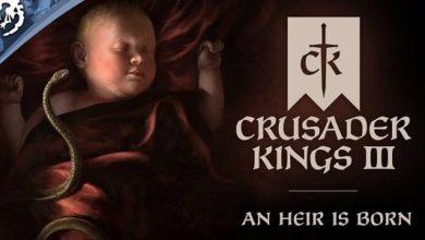 Наследник родился: русский сюжетный трейлер Crusader Kings 3