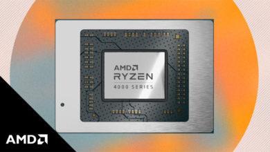 Ноутбуки на процессорах AMD Ryzen 4000 появились в России