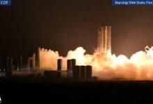 Прототип Starship SN4 компании SpaceX прошёл огневое испытание