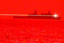 Видео: уничтожение беспилотника лазерным оружием с десантного корабля USS Portland