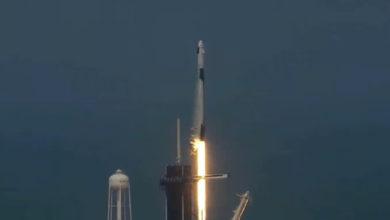 Вы находитесь здесь: SpaceX успешно запустила корабль Crew Dragon с живыми людьми