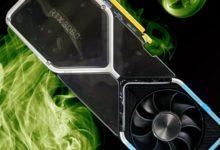 Плитка на 2 конфорки: в сеть слили видеокарту NVIDIA GeForce RTX 3080 с необычным дизайном
