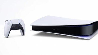 Промо PlayStation 5 в горизонтальном положении