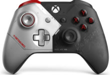 Видео: Microsoft представила Xbox One X в стиле Cyberpunk 2077, которая светится в темноте