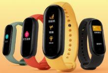 Xiaomi показала, как выглядит фитнес-браслет Mi Band 5